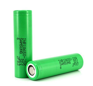 Electric bicycle batteries samsung 25r 2500mah 3.7v inr 18650 rechargeable battery