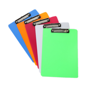 Factory Students High Quality Acrylic Paper Clipboard A6 A5 A4 Clipboard For Office and School