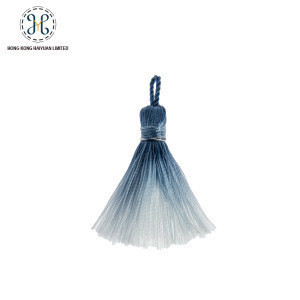 Fashionable dipdye colorful tassel fringe for garment