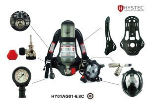 Firefighting equipment Self-rescue Air breathing apparatus HY01AG01-6.8C