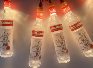 FUYU Customize Wine Bottle String light IP44 Waterproof Indoor Outdoor Decoration Holiday Bar Christmas  Party  Commercial