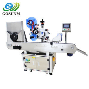 GOSUNM Auto self adhesive label labeling machine CE & ISO 219