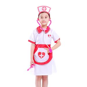 Halloween career kids doctor nurse costume kindergarten cosplay new nurse costume for girls