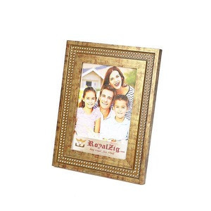 Handcrafted  Indian Heritage Wooden Photo Frame | Picture Frame