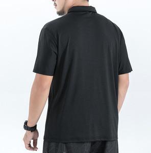 Letter Printed T Shirts Men Solid Black  High Quality Shirts