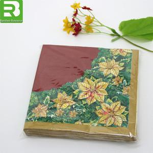Manufacture factory wholesale custom printed paper napkin rings