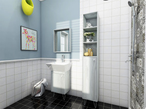 Modern bathroom furniture /bathroom vanity cabinet with(out)  wash basin cabinet +iron feet /new design
