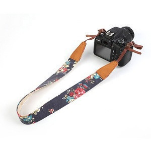 Multi Color Polyester Adjustable Fashion Universal Camera Neck Strap
