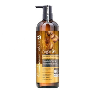 Natural Argan Oil Treatment Shampoo And Conditioner For Damaged Hair