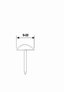 Pneumatic Air Deco Nailer Nail gun Drawing Pin Pushpin gun for furniture