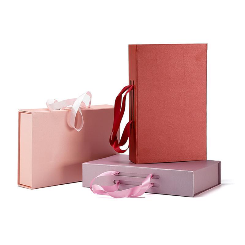 Pretty Simple Rigid Custom Design Rectangle Paper Box Bra Packaging Box For Gift