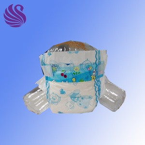 Printed feature 100% USA fluff pulp material disposable baby diaper / Good price disposable unsex baby nappies/ Sample & OEM