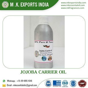 Pure,Natural and Organic Jojoba Carrier Oil Supplier