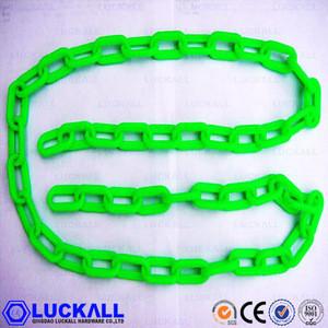 PVC CHAIN COLORED DECORATIVE 6MM PLASTIC CHAIN