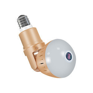 Security Light With Camera Flash Light HD Led WIFI Hidden Camera Night Light Bulb Cameras 360 IP Pinhole Baby Nanny Cam Wireless