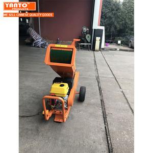 Shredder Chipper 6.5HP Gasoline Wood Chipper SRPC-70 Garden Tree Brush Branch Shredder