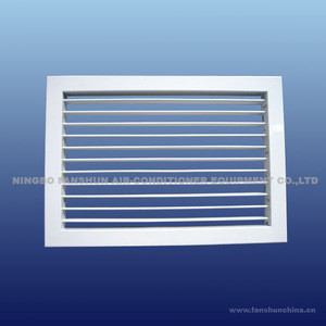 Sidewall single deflection grille for hvac system(air ventilation ceiling diffuser)