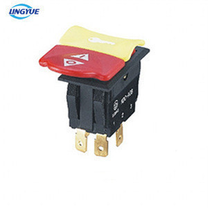 TUV CE approval Rocker switch t125 20A with lock