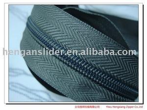 Yiwu supplier wholesale nylon zipper for metal zipper slider