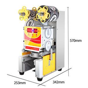 ZM-608 500W220V50HZ Automatic Bubble Tea Cup Sealing Machine