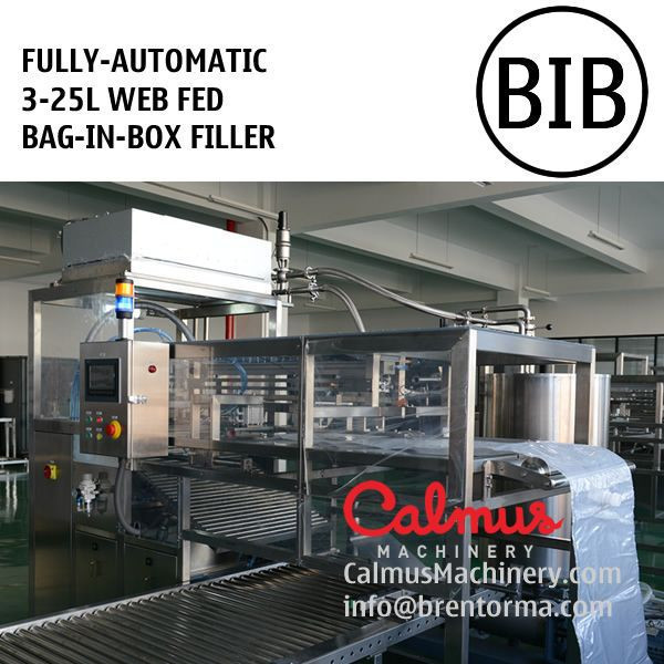 Fully-automatic BiB Tapped Bag Water Packaging Bag in Box Filling Machine