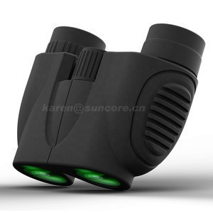 10x22 Folding High Powered Binoculars with  Light Night Vision Clear Bird Watching Great for Outdoor Sports Games