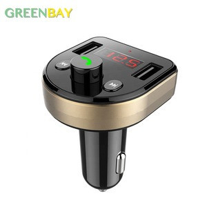 2018 New 3.1A 2 USB Car Charger Bluetooth Handsfree Car Kit