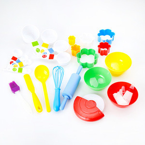 28 Piece Baking Set Kids Cooking Supplies for Making Pastrie Cupcakes Cakes Cookies