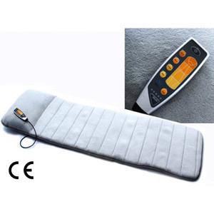5 Motors Portable Folding Vibration and Heating Massage Bed Mattress