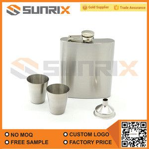 7Oz Stainless Steel Hip Flask for Liquor in Gift package