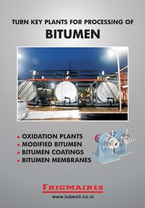 Bitumen Manufacturing Plant from India