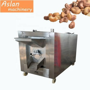 cashew nuts roaster machine / cashew nut flavoring roasting machine / factory supply electric nuts roaster
