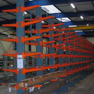 Cheap pipe storage rack /steel beam cantilever rack