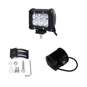 China suppliers Led Light Bar 4inch 18w 12V Auto Led Work Headlight for Offroad SUV 4WD Car Truck
