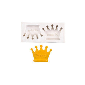 Crown silicone cake mold DIY cake decoration mold family party turning sugar cake tool