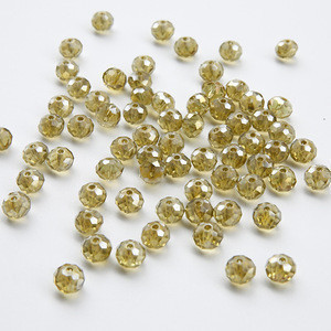 Crystal loose beads jewelry garment accessories creative bead accessory for boutique neck garments accessories