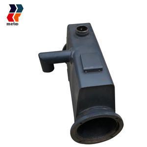 Custom service aluminum / stainless steel marine radiator shell