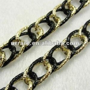 Double-tone Aluminium Chain for Jewelry DIY Making
