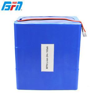 Factory price deep cycle custom electric bicycle/car/vehicle solar storage 12v 24v 100ah li-ion battery pack
