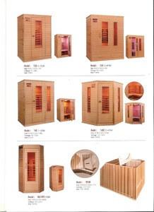 Far-Infrared Sauna Cabin with Sand-Filed Ceramic Heater : EZ140