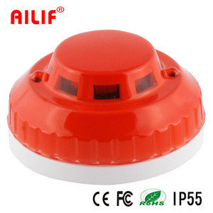Fire Alarm Networkign Wired Optical Heat Detector