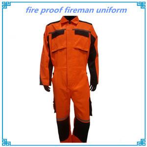 Fire proof fireman uniform