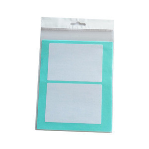 Free sample adhesive filing envelopes accessories label