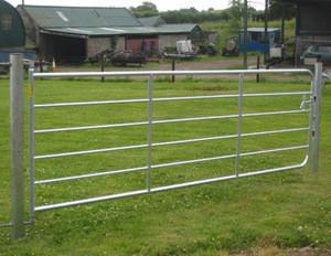 Good quality farm gates galvanized/goat fence gate for sale