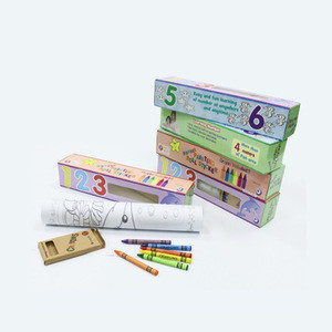 Great for Group  Intelligent  painting Coloring Roll Continuous Coloring Paper