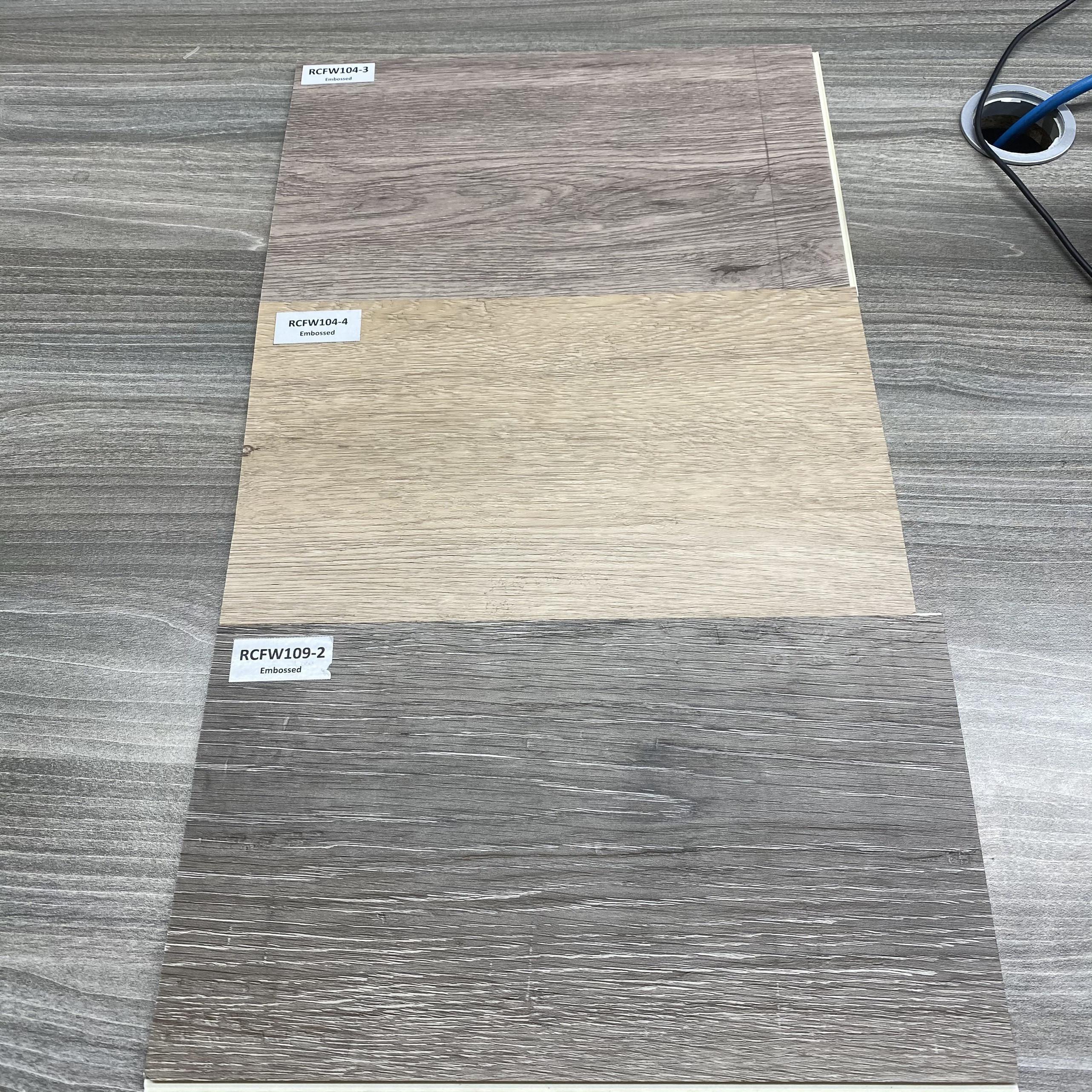 High Quality Diverse Designs Virgin PVC SPC Rigid Core Vinyl Click Plastic Floor Covering  PVC Flooring Tiles Plank Distributors