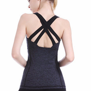 High quality ladies dry fit Gym wear YogaTank Tops