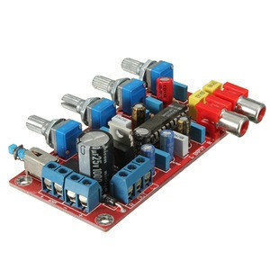 High Quality LM1036 Tone Board Preamp Mother Board Volume Treble Bass Amplifier Easy To Install