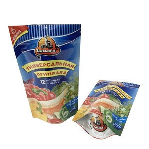 High temperature vacuum storage bag / transparent retort pouch for hot food products