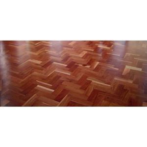 Indian Vintage Style Patterned Solid Teak Wood Flooring